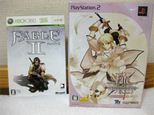 Fable2とFate/unlimited codes