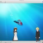 VMware Fusionのスクリーンショット