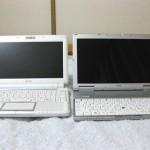 Eee PC-901-Xとの画面の大きさ比較