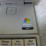 何故かWindows Vista BASICシール