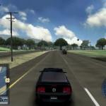PSP版TDUゲーム画面